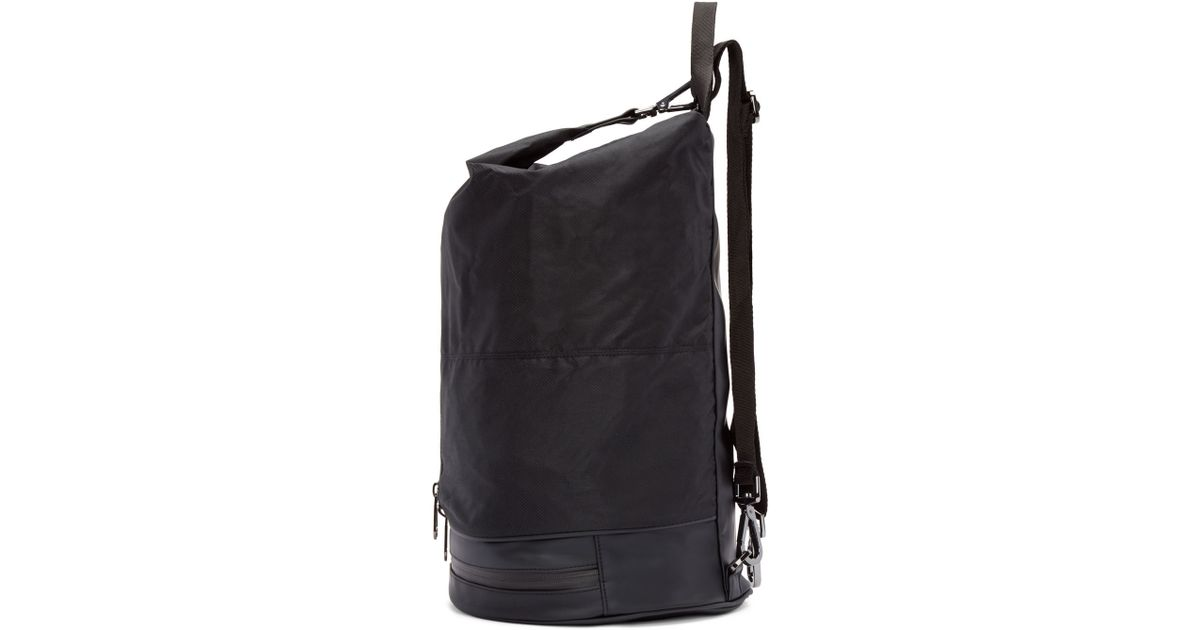 9f44915e40b8 Lyst - adidas By Stella McCartney Black Nylon Gymbag 5 Backpack in Black