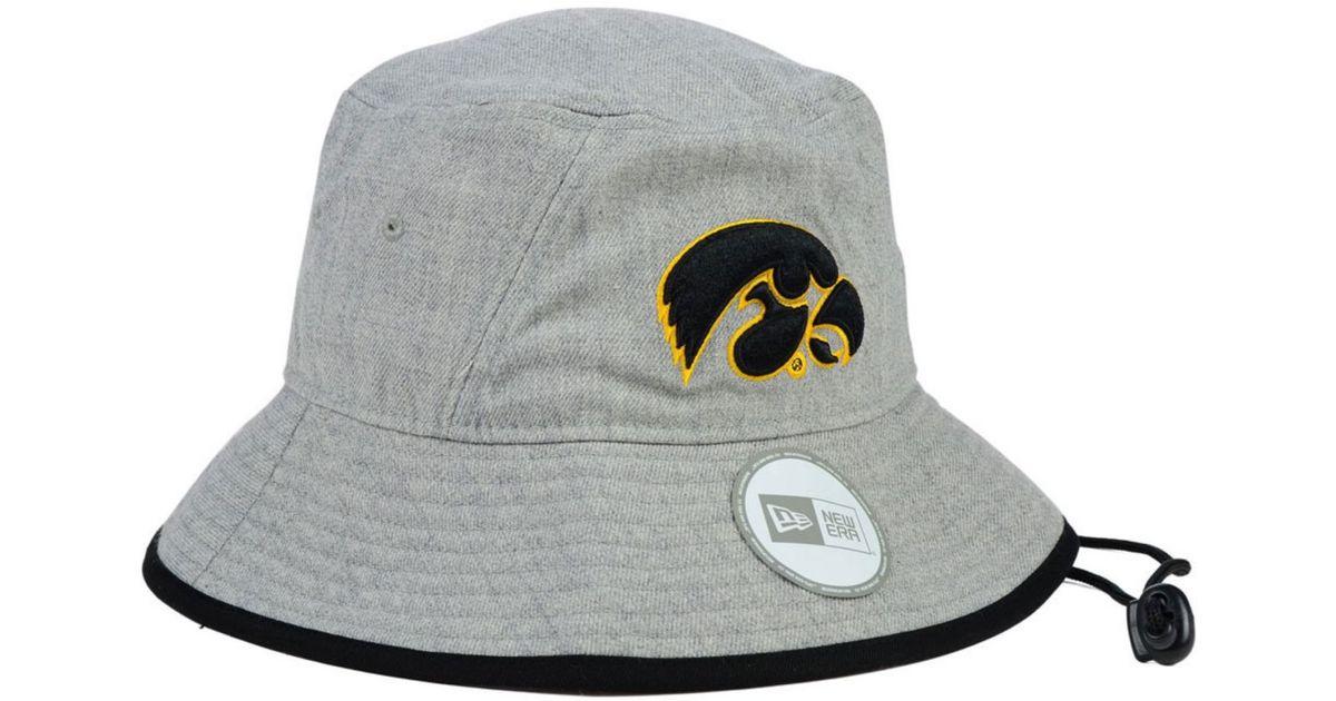 e63cfa7eb0c87 ... real lyst ktz iowa hawkeyes tip bucket hat in gray for men b96a8 f2a90  buy iowa state ...