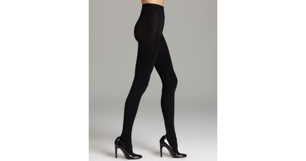 ee67dbf21ce96 Kate Spade Very Opaque Tights in Black - Lyst