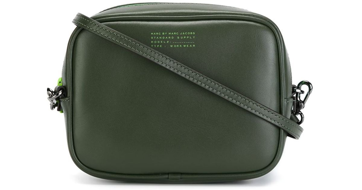 fbbff32923f77 Lyst - Marc By Marc Jacobs Sophisticato Duo Leather Cross-Body Bag in Green