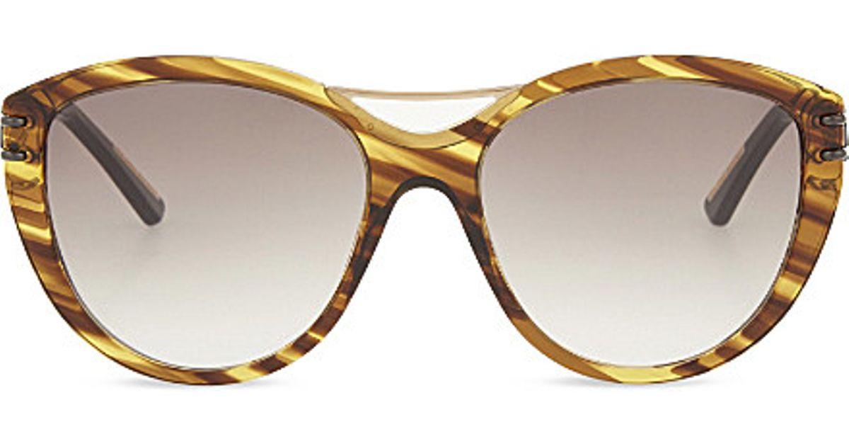 Roland Mouret Woman Aviator-style Gold-tone Sunglasses Gold Size Roland Mouret bkNMEK