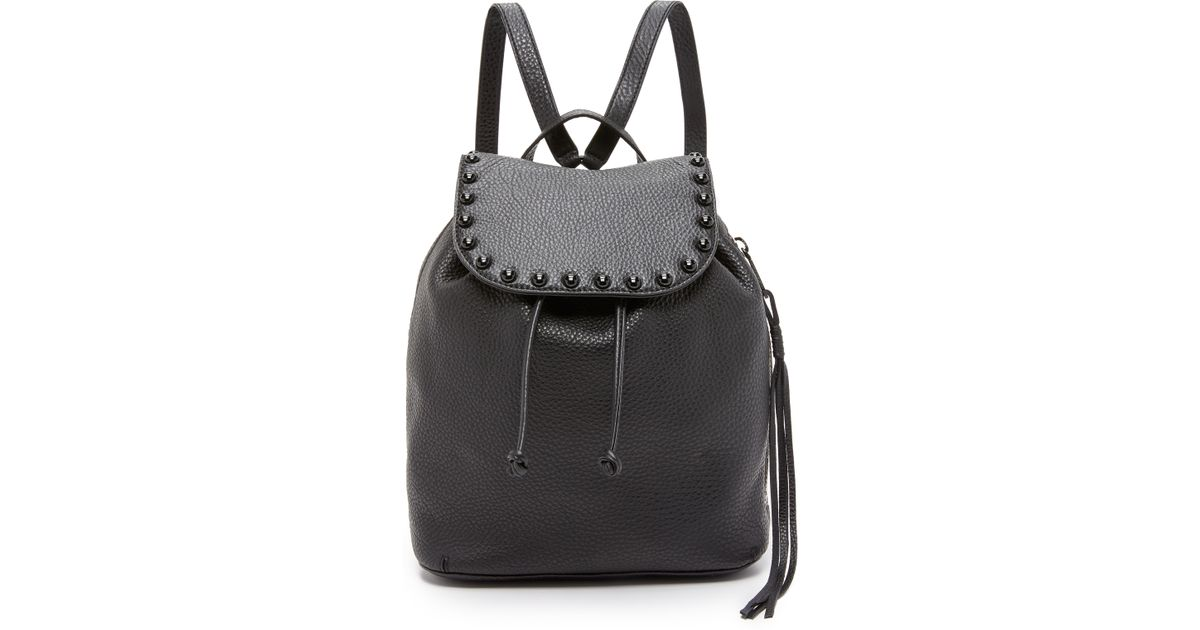 Lyst - Rebecca minkoff Little Leather Backpack in Black