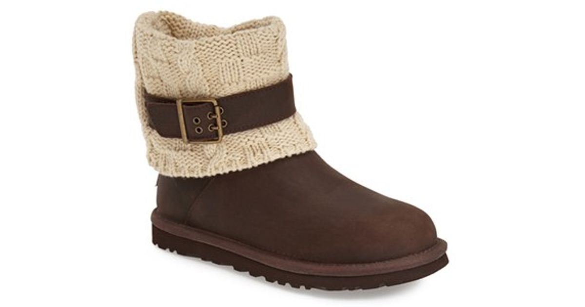 Ugg Boots Shaina Knit Black American Go Association