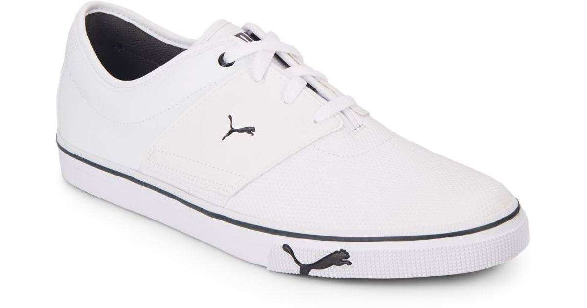 3cd6363939a8 Lyst - PUMA El Ace Core Sneakers in White for Men