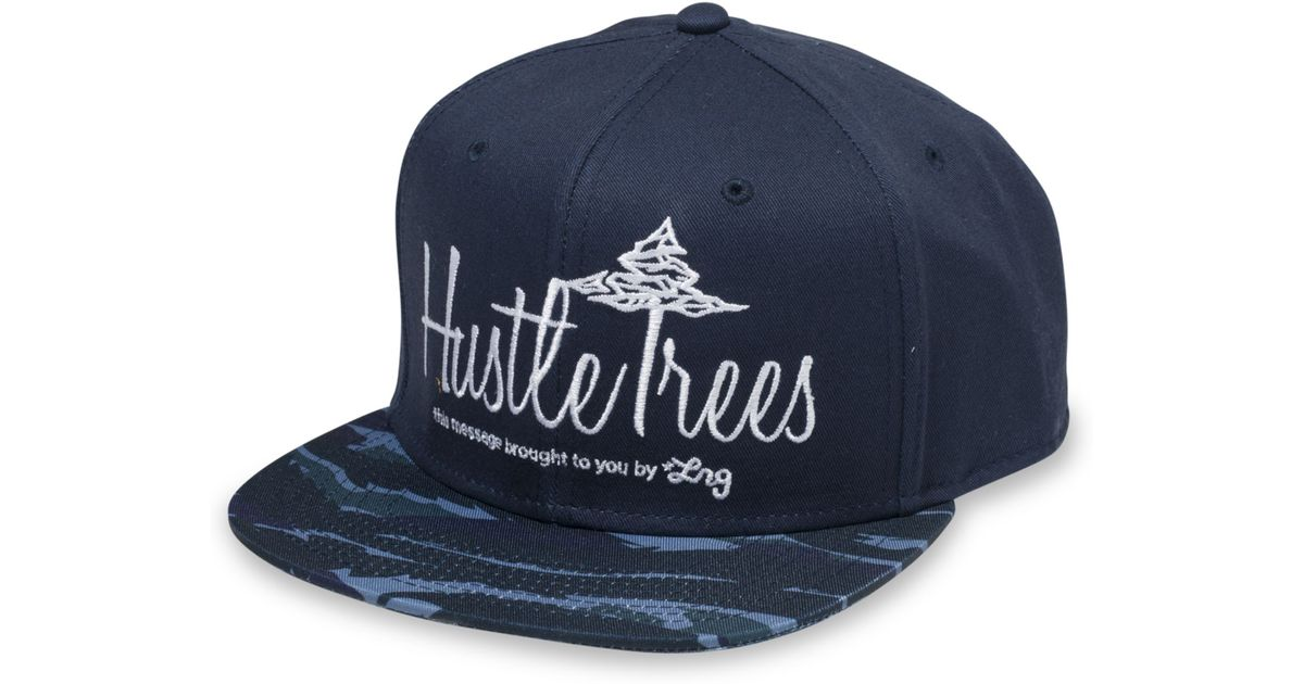 Lyst - Lrg Hustle Trees Hat in Blue for Men cabb92aed4c