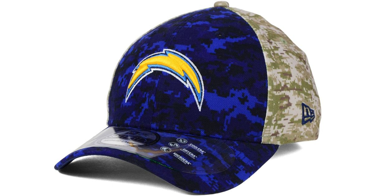 1c9dff7bd3b Lyst - KTZ San Diego Chargers Salute To Service 39thirty Cap in Green for  Men