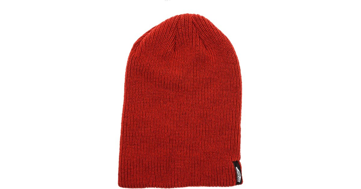 Lyst - Vans The Mismoedig Beanie in Red for Men d235b109ace5