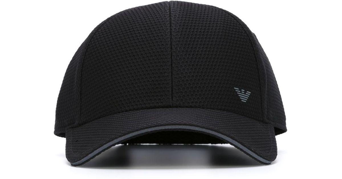 logo baseball cap - Black Emporio Armani 3PFWFu