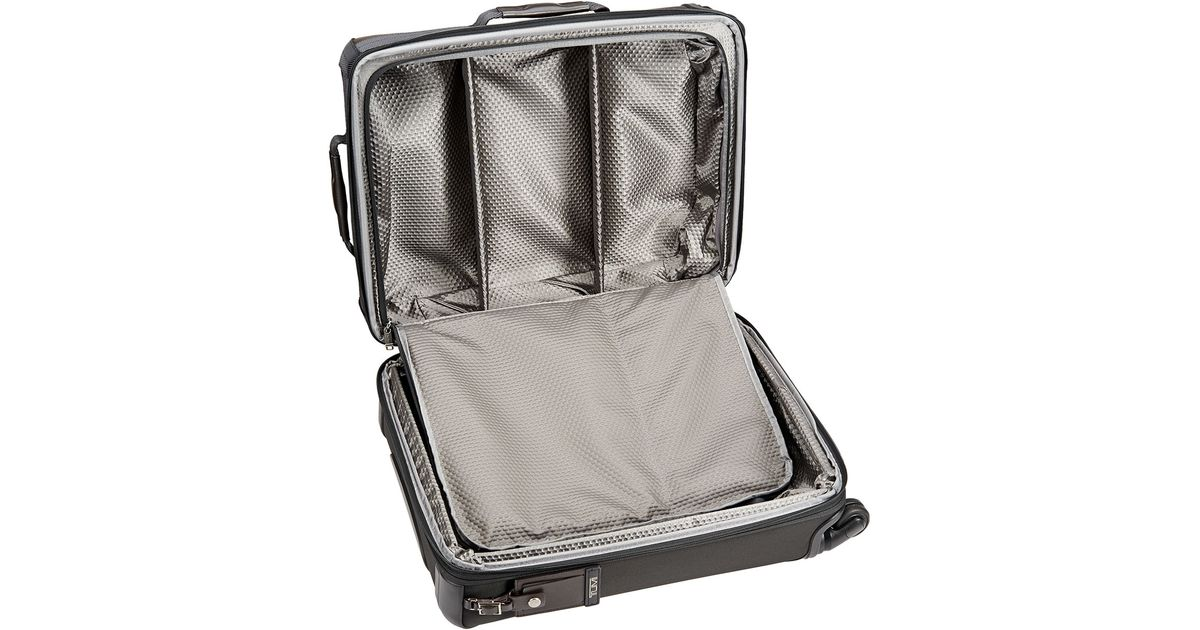 e3078a144 Tumi Alpha Bravo Kirtland Continental Expandable Carry-on Spinner Suitcase  in Black for Men - Lyst
