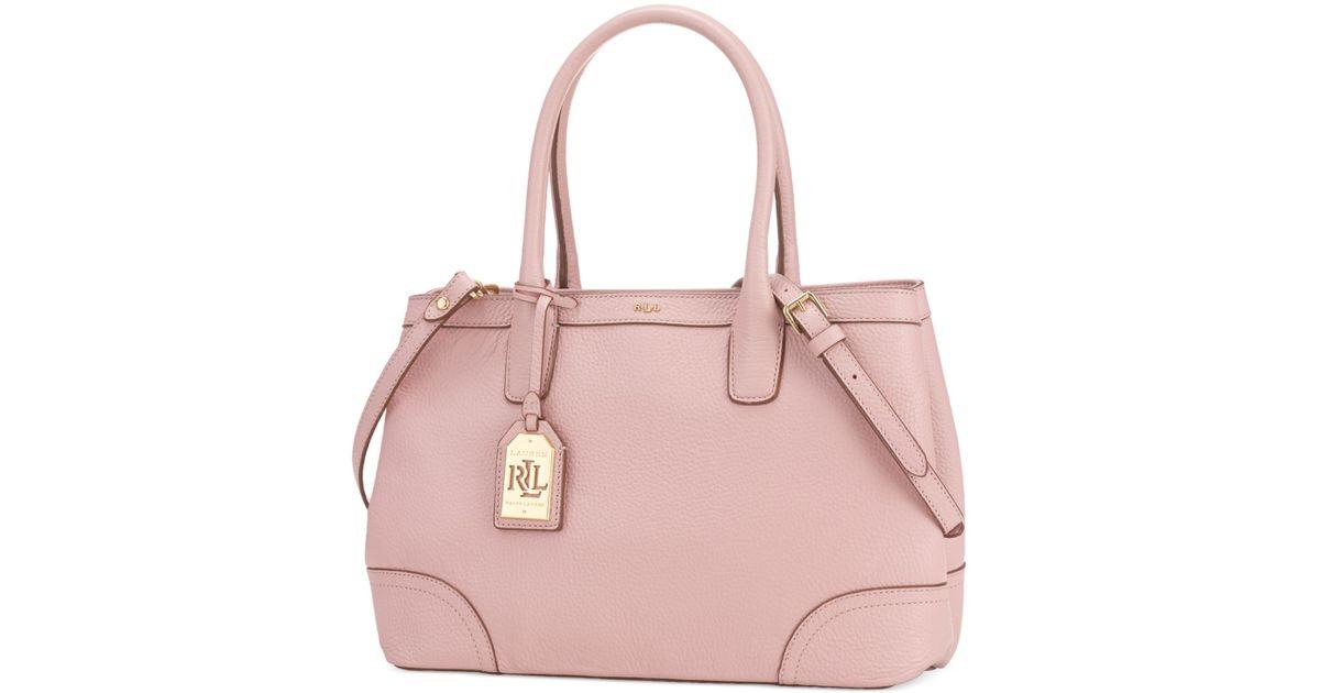 9da3ae698d71 Lyst - Lauren by Ralph Lauren Fairfield City Shopper in Pink
