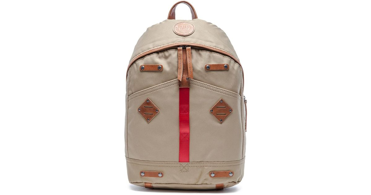 Lyst - Will Leather Goods Give Will Backpack in Natural for Men 693abf5f8731