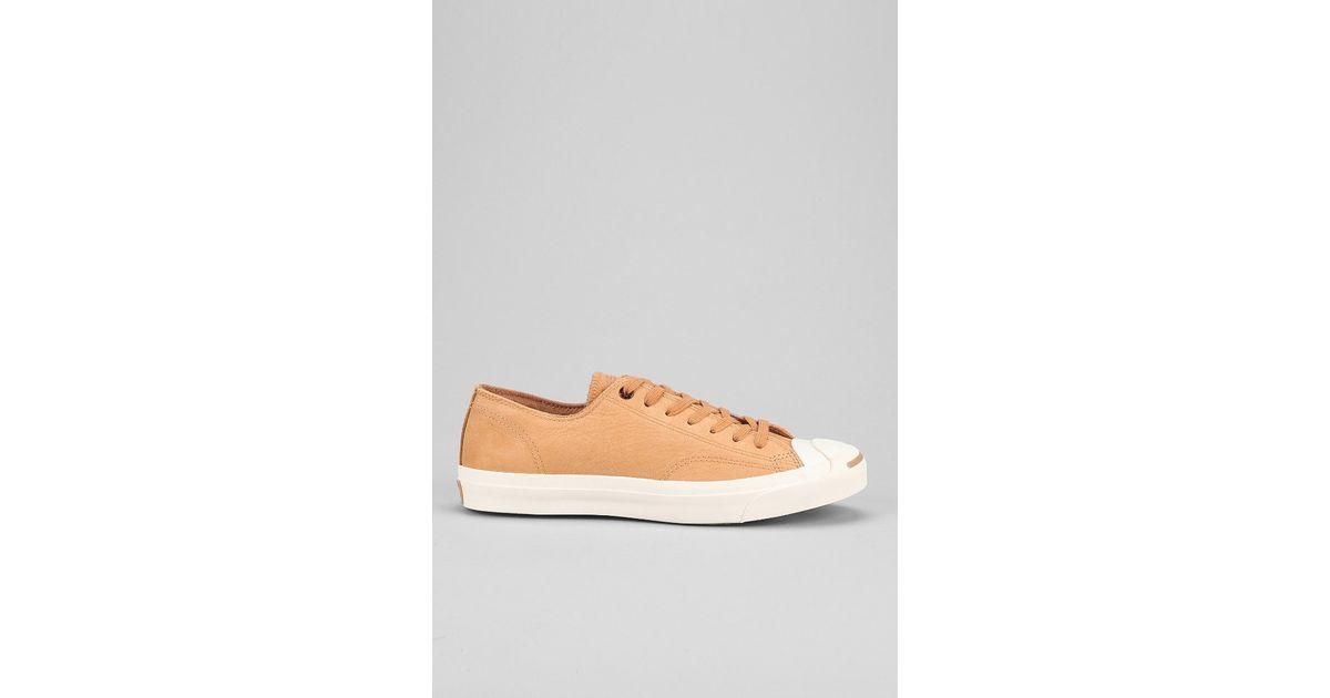 83f25439519e Lyst - Converse Jack Purcell Black Nubuck Sneaker in Brown for Men