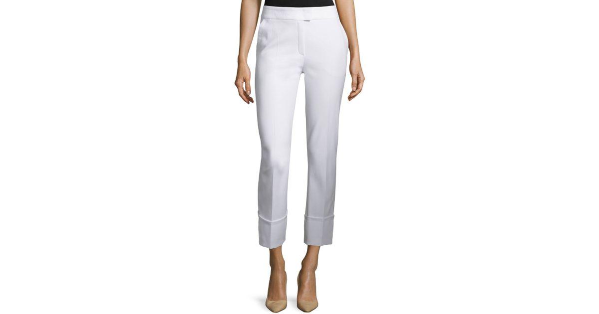 Amazing FOLDED WAIST PANTS Womens Pants Yoga Pants Black Pants