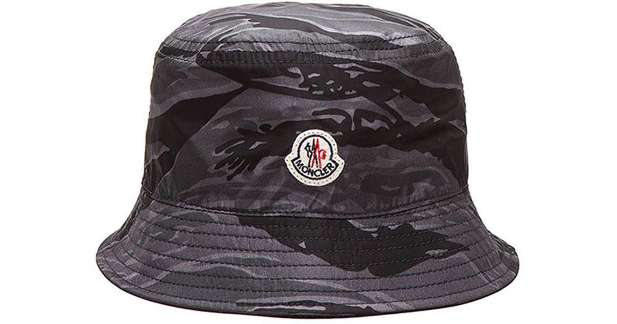 Lyst - Moncler Men S Bucket Hat in Purple 7ff61fe7603