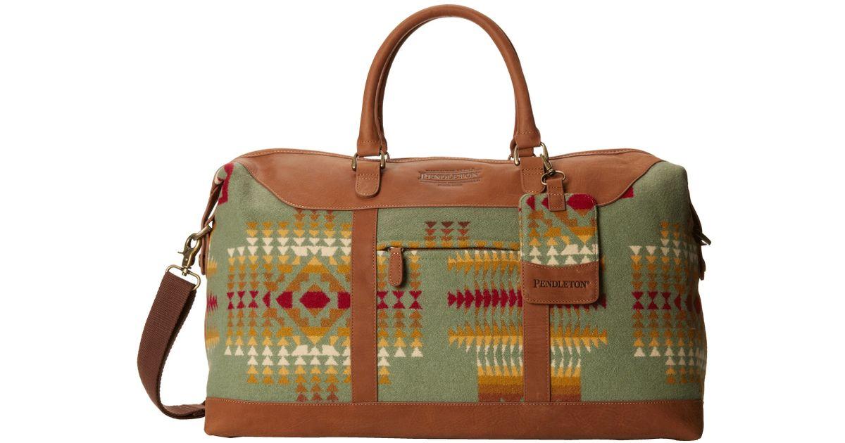 b0ceb236b9ae Lyst - Pendleton Weekender Bag in Green for Men