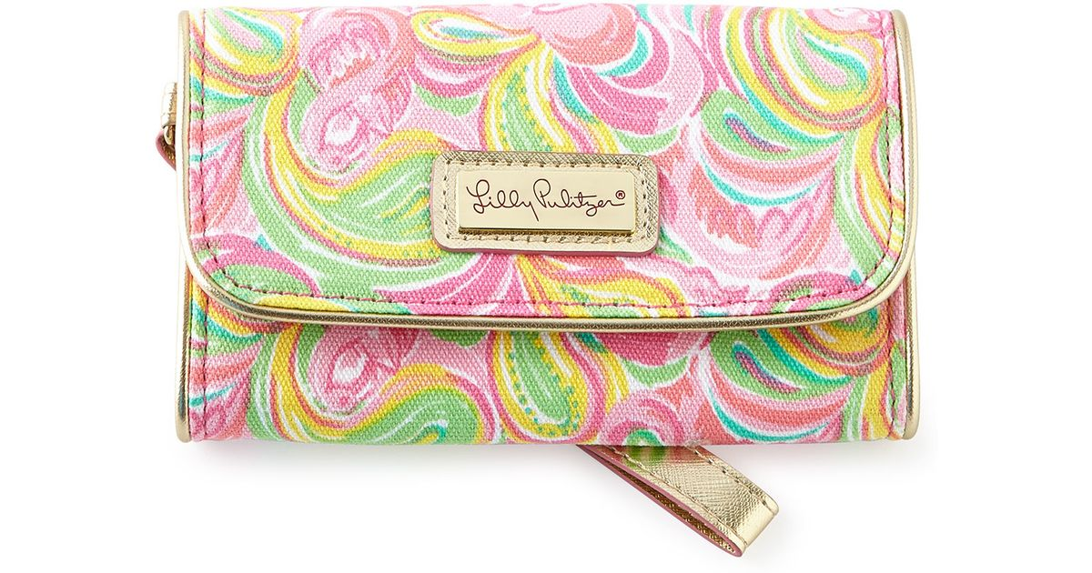 Lilly Pulitzer   Blue Its A Keeper All Nighter Phone Wristlet   Lyst