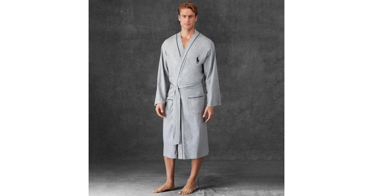 ... where can i buy lyst polo ralph lauren kimono robe in gray for men  25a25 93e28 29cbb9df2