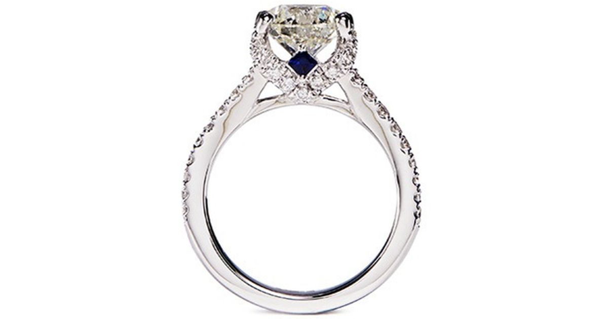 Vera Wang Love Boutique Diamond Engagement Ring In Silver WhiteMetallic