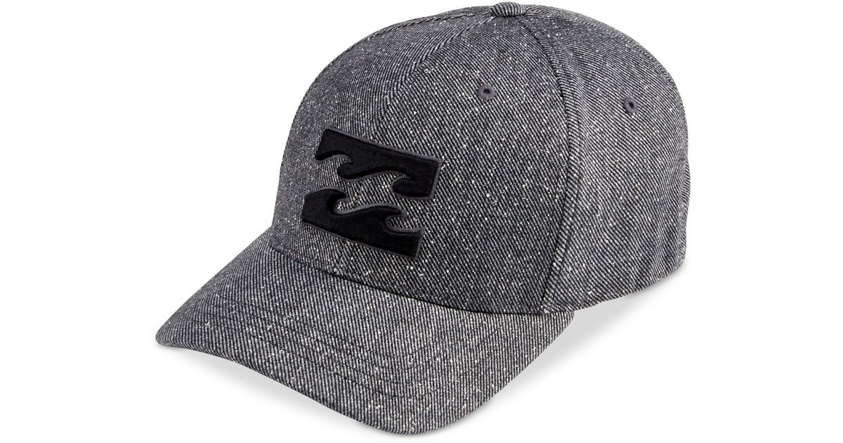 huge selection of f21c2 45d44 ... low cost lyst billabong all day flexfit hat in gray for men ad702 c772f