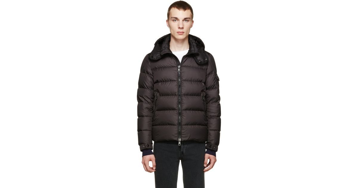 Moncler Black Nylon Down Himalaya Jacket