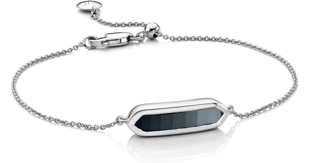 f10291e793702 Monica Vinader - Metallic Baja Mini Bracelet - Lyst