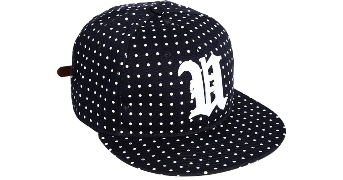 Lyst - Undefeated U Dot Snapback Cap in Blue for Men 85e8ef80a0d4
