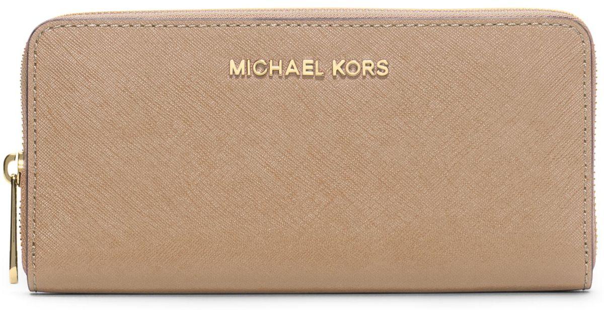 michael kors wallet jet set continental vanilla michael kors black leather purse with gold chain