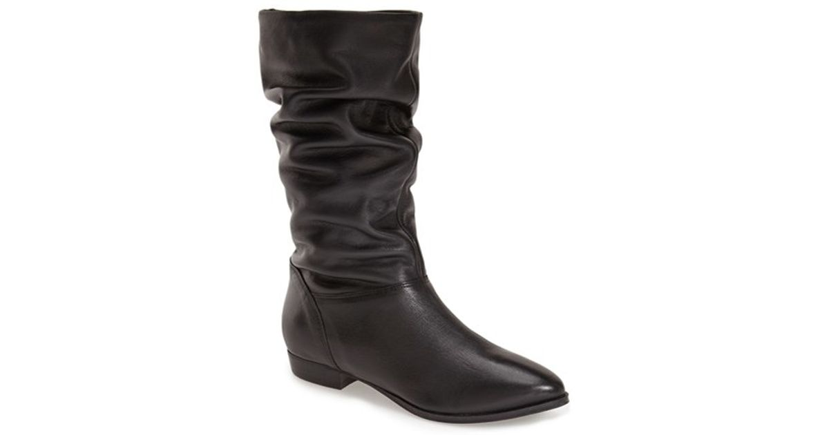 Dune Relissa Scrunch Boot Women In Black Black