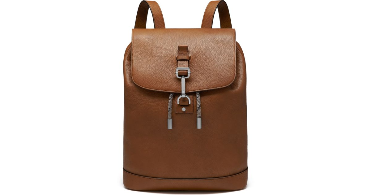 b8267fb30573 ... france mulberry small marty backpack in brown lyst 20749 103b0 ...