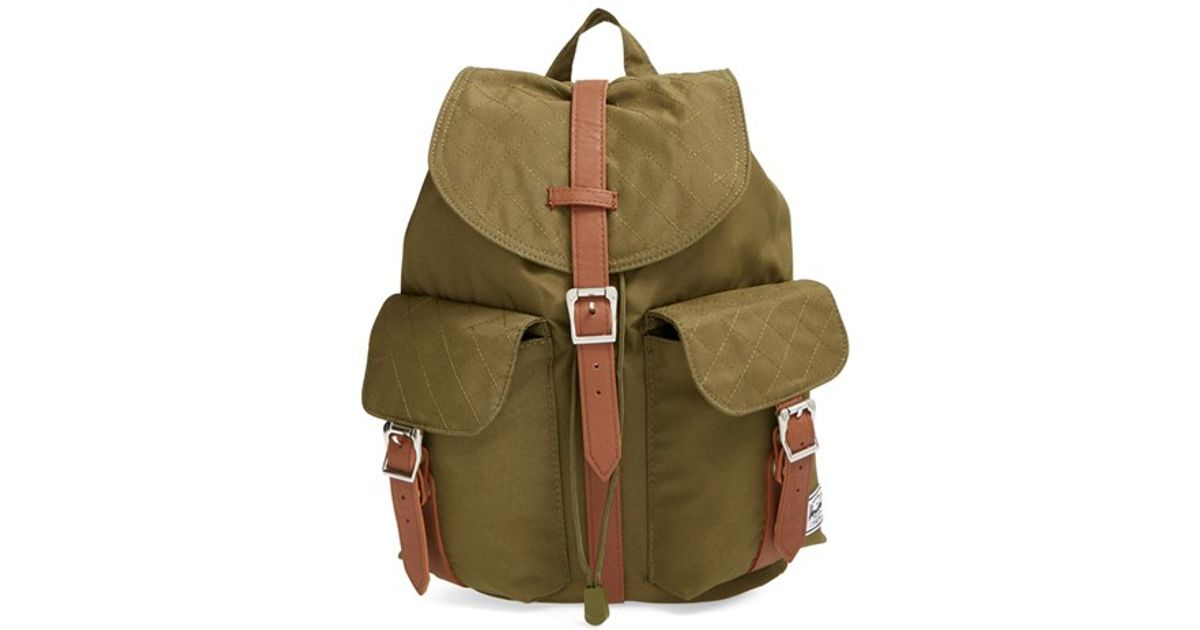 3f503c6c724e Lyst - Herschel Supply Co.  dawson - Mid Volume  Backpack in Green