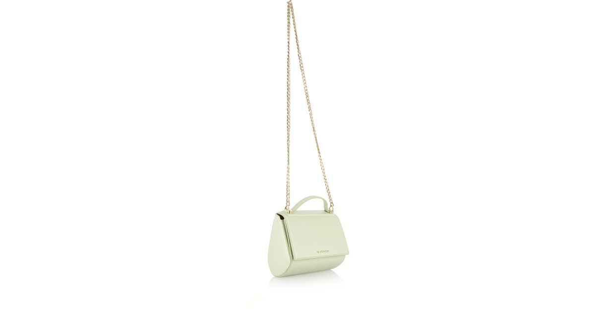 066330201d77 Lyst - Givenchy Mini Pandora Box Shoulder Bag In Mint Leather in Green