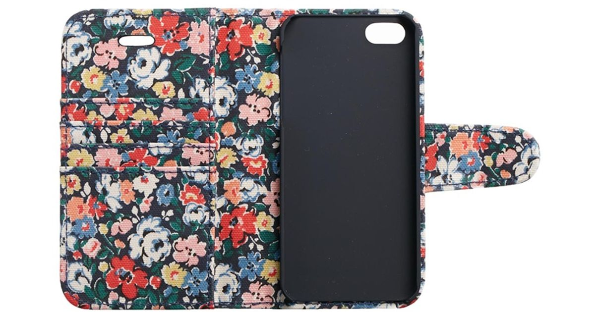 best service 11d2d 0e75f Cath Kidston - Blue Mews Ditsy Iphone 5 Case - Lyst
