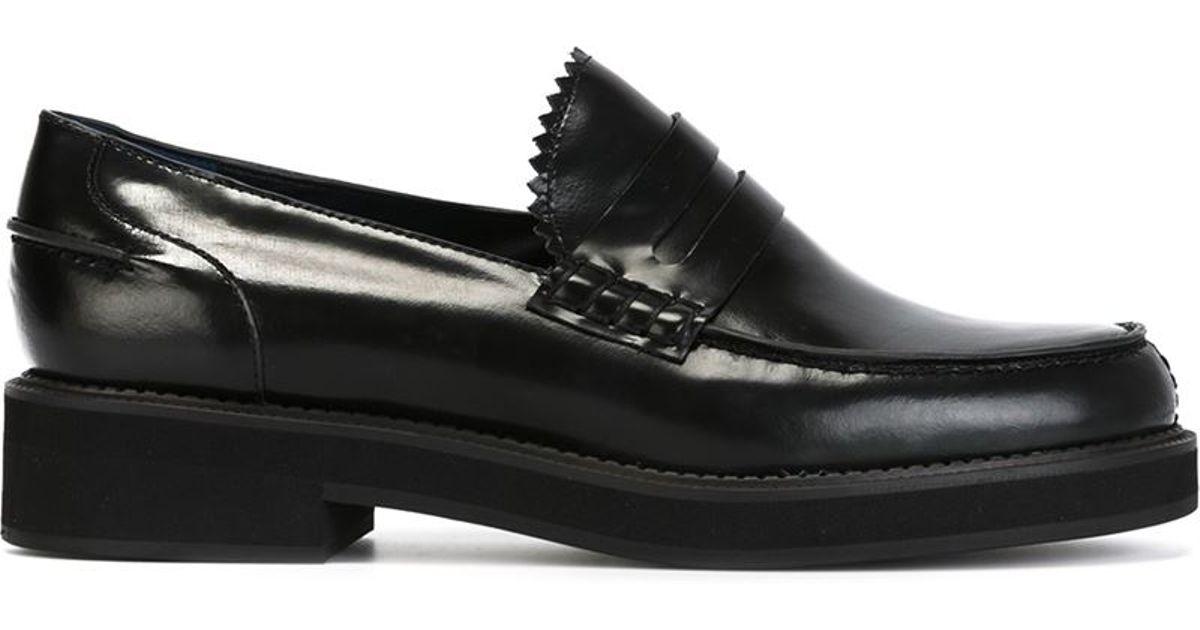 JIL SANDER NAVY Loafers Black Women