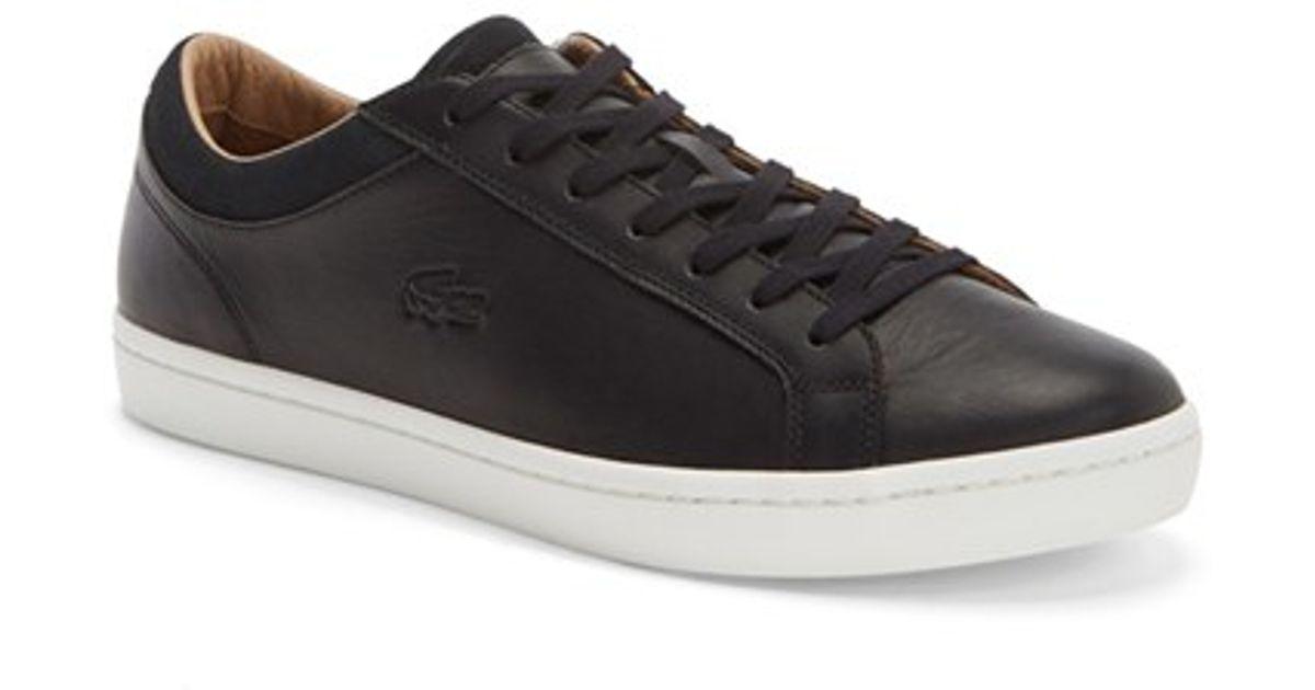 623d651f5 Lyst - Lacoste  straight Set Crf  Sneaker in Black for Men