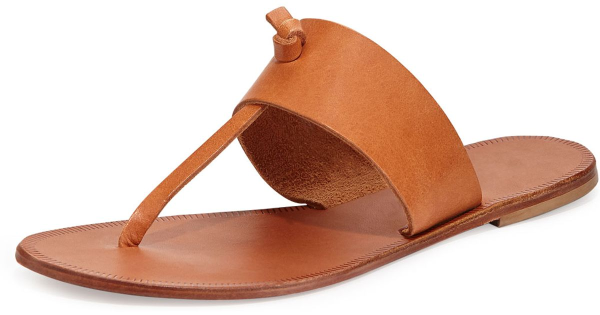 5f30d8042bfc Lyst - Joie Nice Slip-on Thong Sandal in Brown