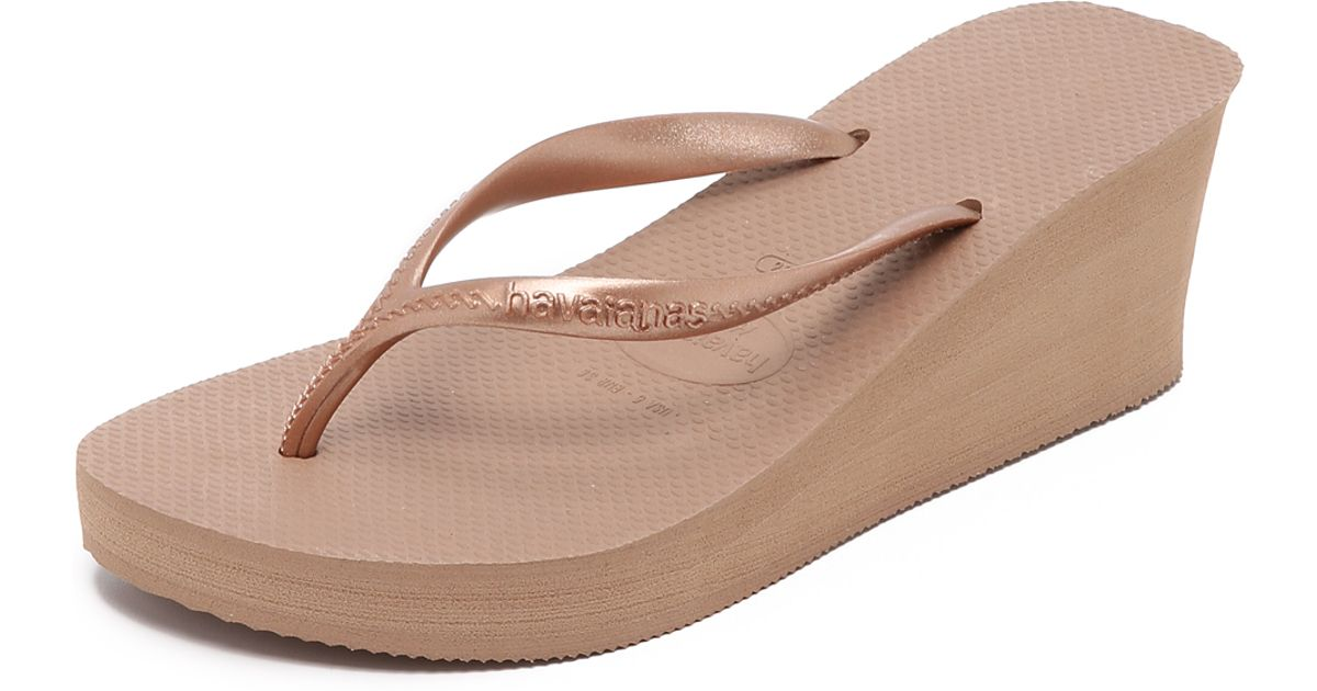 Havaianas High Fashion Rose Gold