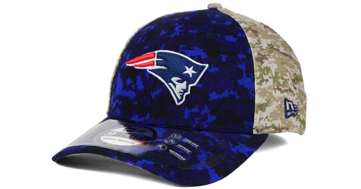 Lyst - KTZ New England Patriots Salute To Service 39thirty Cap 8f01f044f22