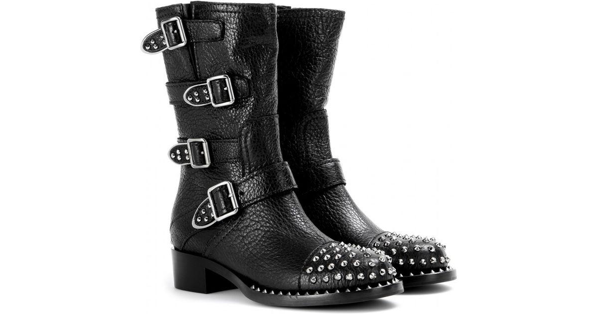 Miu Miu Studded boots HS3Qc