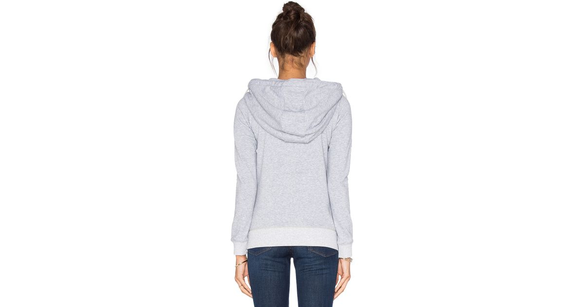 g star raw sipal hoodie in gray lyst. Black Bedroom Furniture Sets. Home Design Ideas