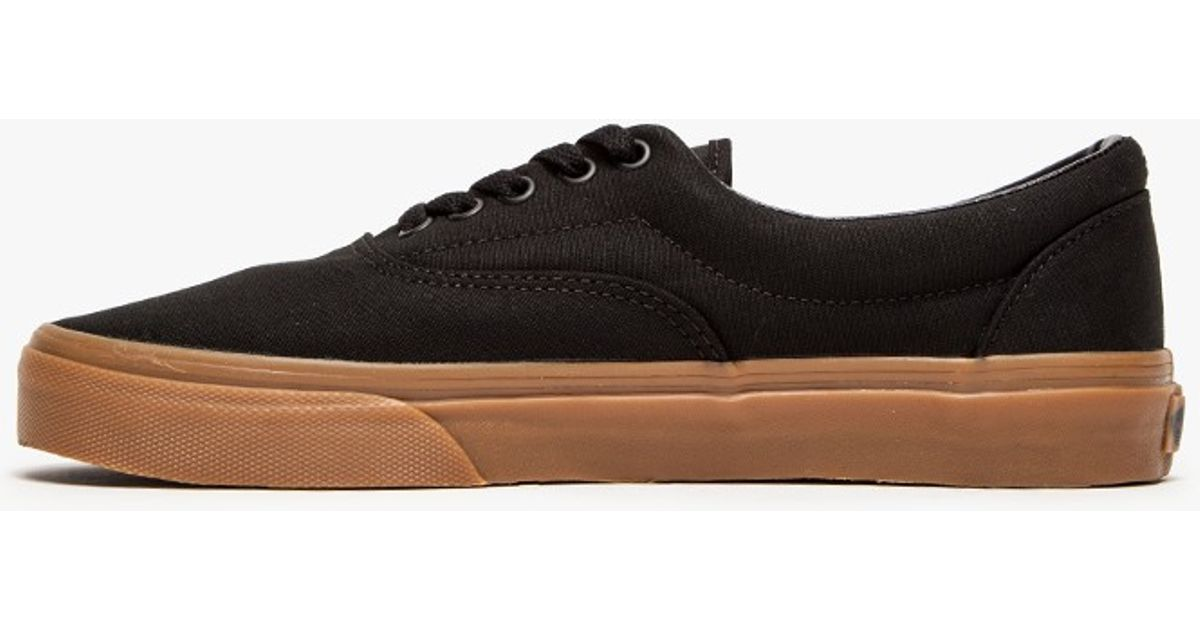 aa4db41a258cd5 Lyst - Vans Era in Black with Classic Gum in Black for Men