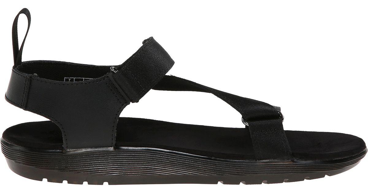 eefb398136e Lyst - Dr. Martens Balfour Z-strap Sandal in Black