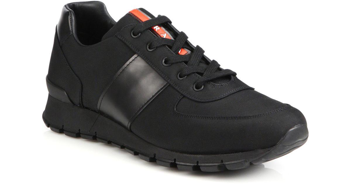 black prada trainers mens off 61% - www