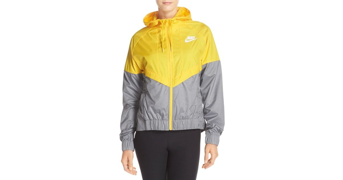 281fafe35b Lyst - Nike Windrunner Water-Repellent Jacket in Yellow