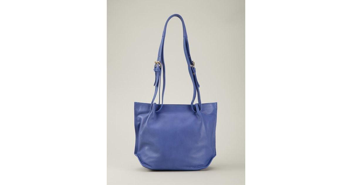 1f33db133ec Lyst - Vivienne Westwood Maddox Leather Shoulder Bag in Blue