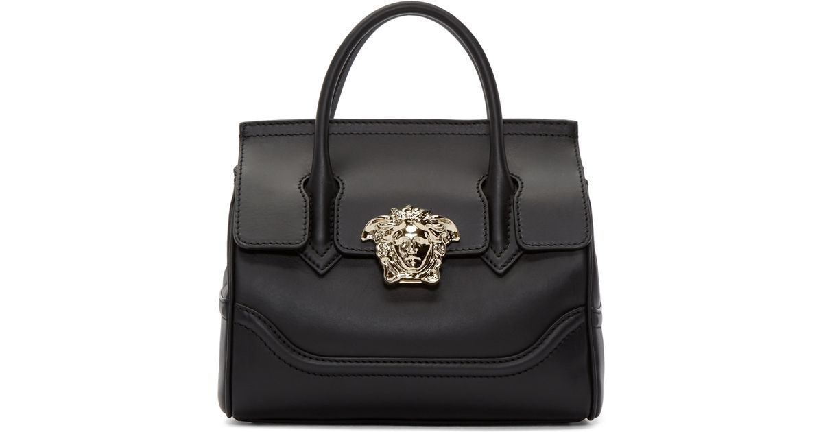 d30229007294 Lyst - Versace Black Medium Palazzo Bag in Black