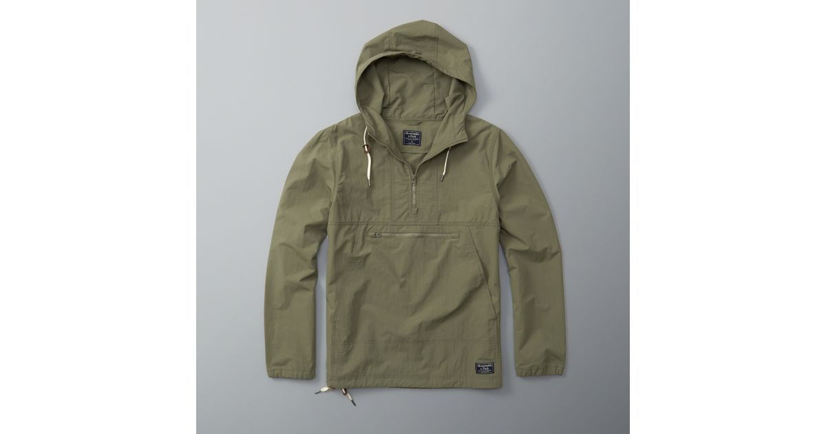 Abercrombie And Fitch Clothing Abercrombie And Fitch Hoodies Abercrombie And Fitch Jackets Abercrombie And Fitch Sweater: Abercrombie & Fitch Half-zip Anorak For Men