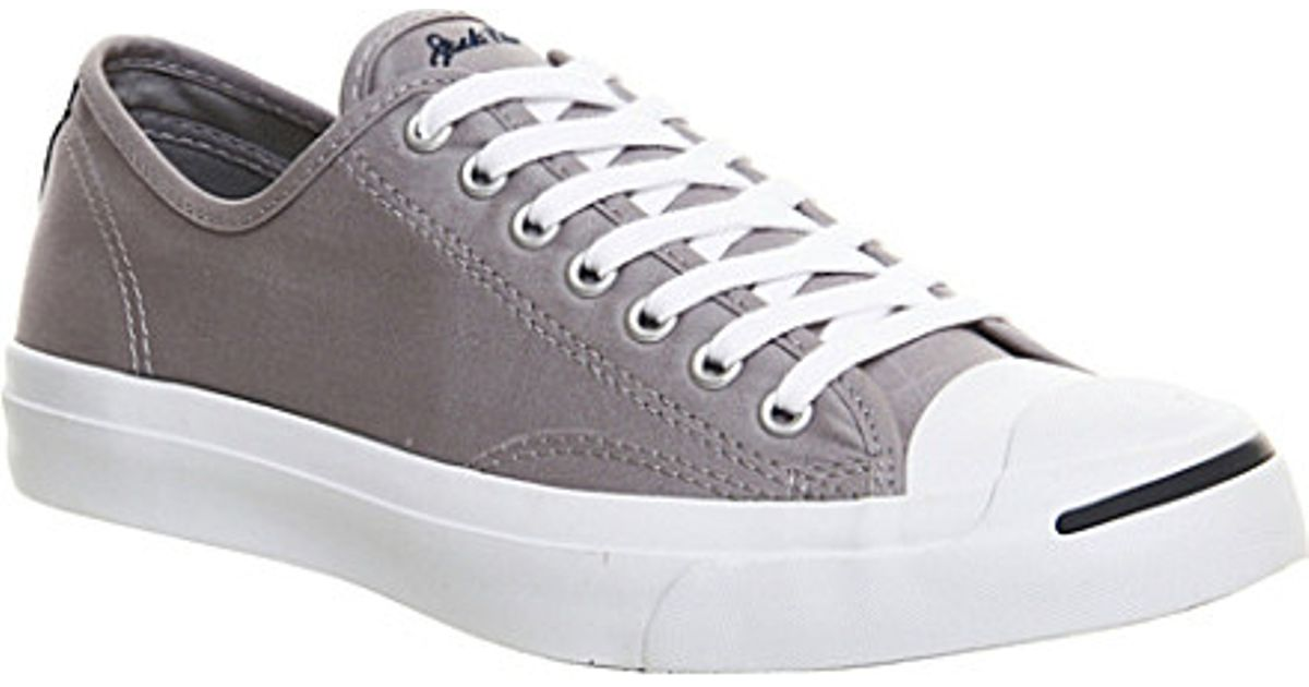 f2b73c8dc978 wholesale converse jack purcell sneaker men 6578e 3b547  coupon code for converse  jack purcell premium canvas trainers in gray for men lyst 420d3 fef9c
