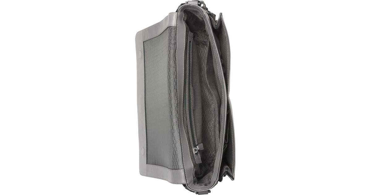 85bab8116a89 Lyst - Michael Kors Warren Large Messenger Bag in Gray for Men