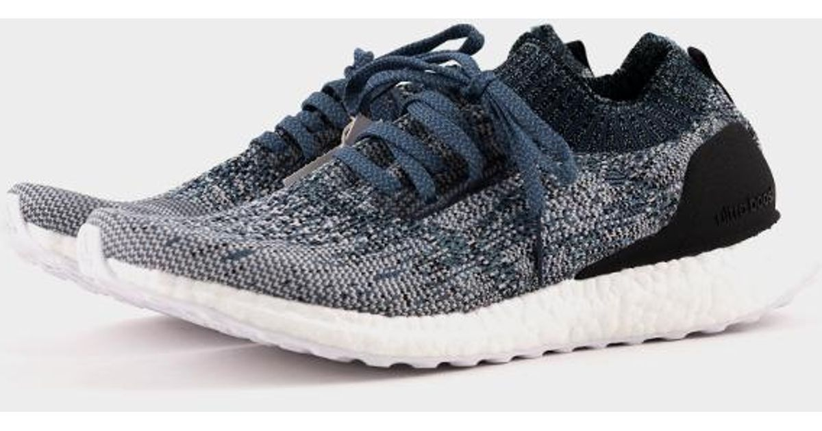 info for c52d9 a48a8 adidas Ultraboost Uncaged Parley Raw Grey  Chalk Pearl  Blue Spirit in  Blue - Lyst