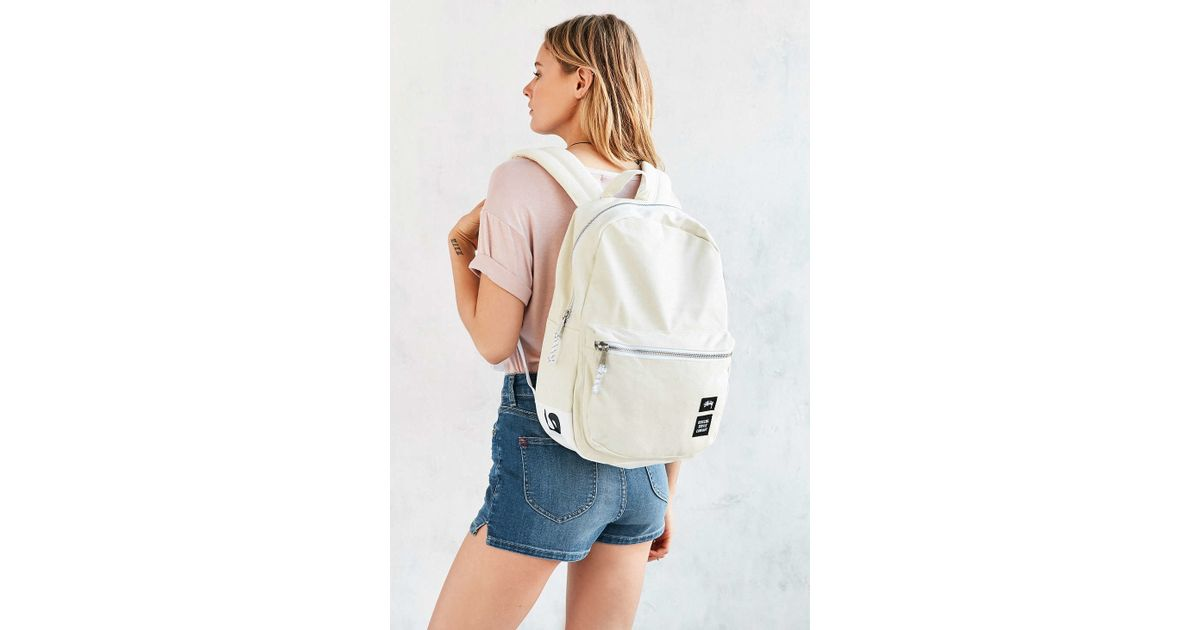 98cc9bf764f Lyst - Stussy Canvas Lawson Backpack in Natural